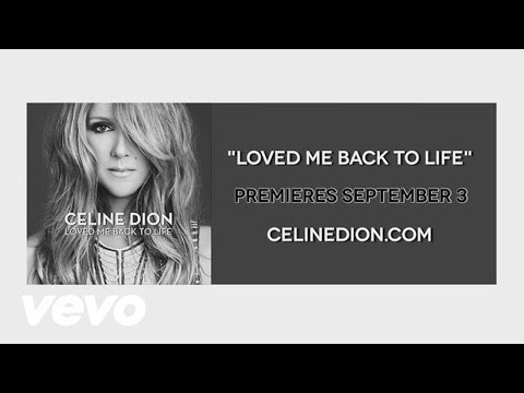 Céline Dion - Teaser  - Loved Me Back to Life In-studio footage