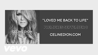 Céline Dion - Teaser Video - Loved Me Back to Life