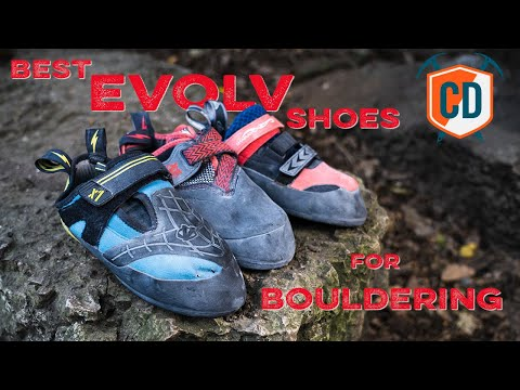 Which EVOLV Climbing Shoes Are Best For Bouldering? | Climbing Daily Ep.1534