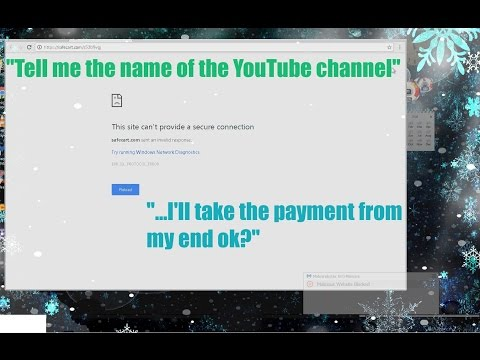 Scammer is revealed, still wants credit card