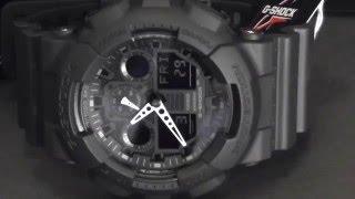 2S Time - CASIO G-Shock GA-100-1A1 Velocity Indicator X-Large Series