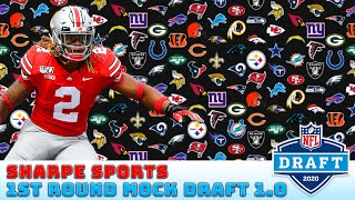 THE *ONLY* 2020 NFL MOCK DRAFT YOU NEED TO WATCH l Sharpe Sports