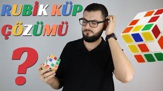 Zeka Küpü Nasıl Çözülür? | Rubik Küp | Sade Anlatım Yavaş Çözüm