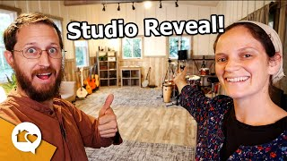This is because of YOU!  New STUDIO REVEAL!