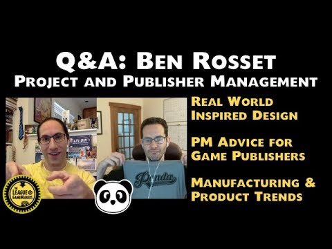 LoGM - Q&A: Ben Rosset - Project and Publisher Management