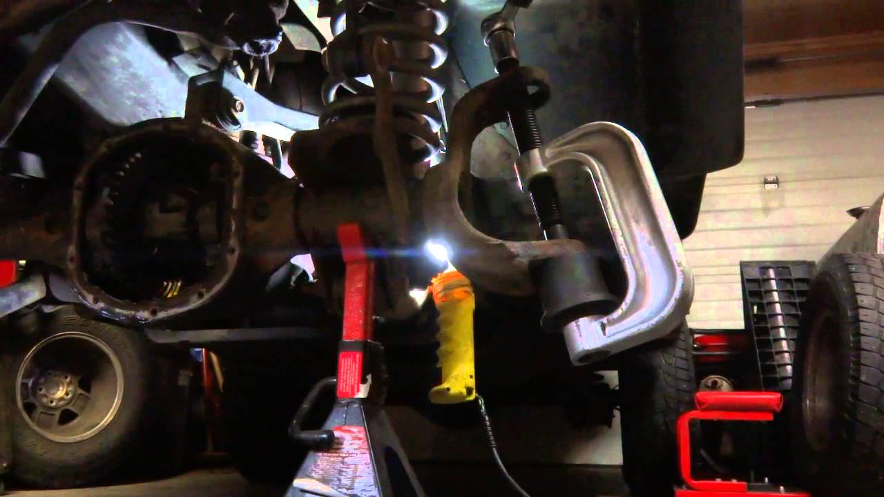 Jeep Ball Joint Replacement How Too Diy Youtube