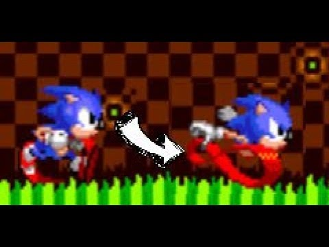 Sonic 2 Cd Run Sprite Youtube