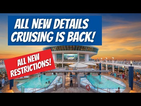 HUGE CRUISE UPDATES: CRUISING FROM US IS BACK | ALL DETAILS OF WHEN CRUISES RESTART