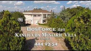 Kanlıca'da Boğaz Manzaralı Müstakil Villa
