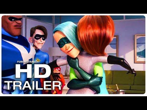 INCREDIBLES 2 Movie Clips (NEW 2018) Superhero Movie HD