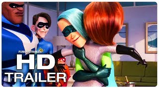 INCREDIBLES 2 Movie Clips (NEW 2018) Sup...