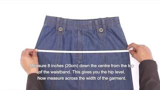 How to Take Garment Measurements of Skirts | Shukr Islamic Clothing