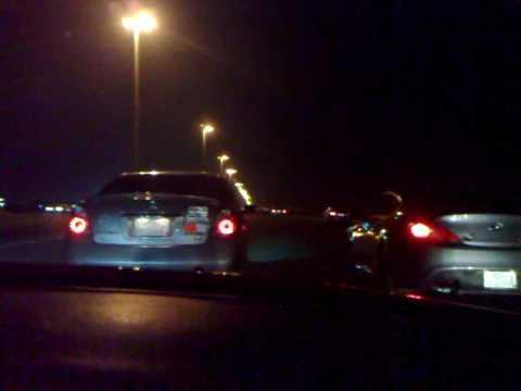 Tuned 2005 Nissan Altima V6 ( Alsendi ) Vs Tuned 2009 Hyundai Genesis V6 ( Hammoodi )