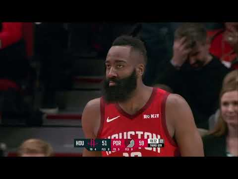 Houston Rockets Vs Portland Trail Blazers : January 5, 2019