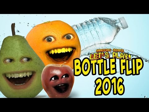 Pear, Midget Apple & Annoying Orange Plays - Bottle Flip 2k16