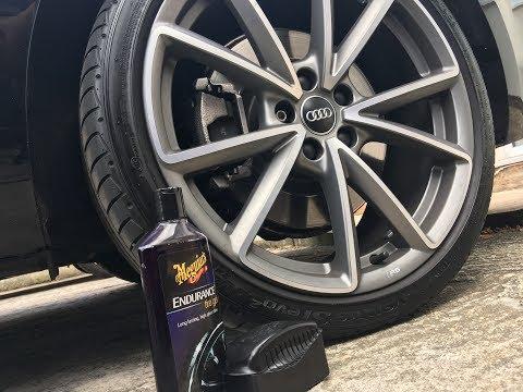 Trying Out Meguiar's Endurance Tire Gel
