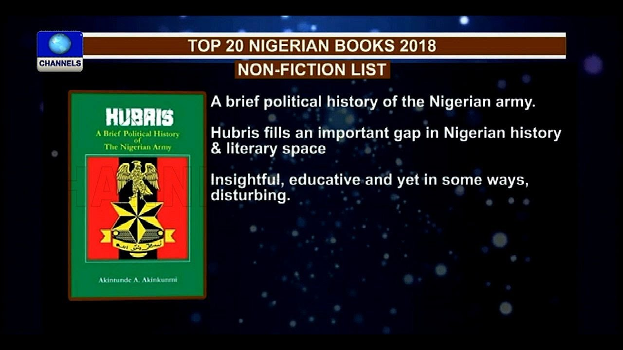 Review Of Top 20 Nigerian Books In 2018 Pt 3 |Channels Book Club|
