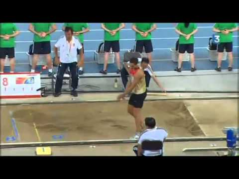 Long jump men final 2011 world championships  Dwight Phillips world champion for the 4th time!!!