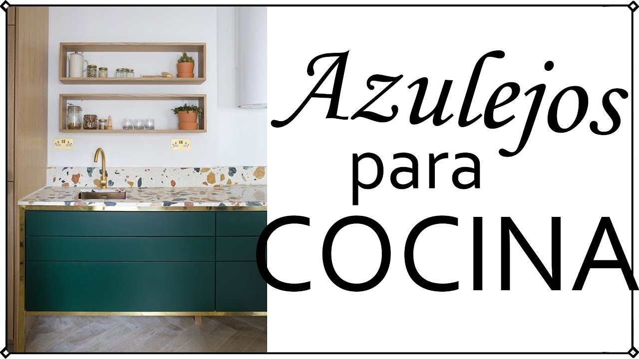 Azulejos modernos para cocina decoraci n patri blanco for Decoracion de cocinas integrales