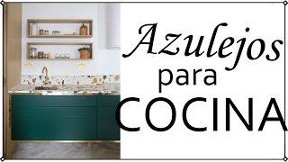 Gambar cover Azulejos modernos para cocina | Decoración Patri-blanco