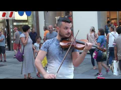 ★ Marek (Slovakia). Violin. Vienna Street Performers by RussianAustria (FHD)
