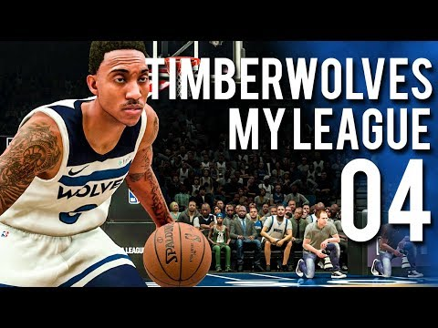 WHAT A GAME! (BEST YET) - NBA 2k18 Timberwolves MyLeague Ep.4