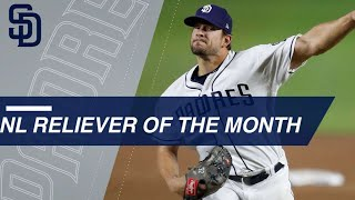 Brad Hand is the NL Reliever of the Month of May