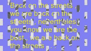 A.C.A.B - Back On The Street ( Lirik )