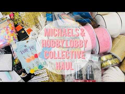 Craft Haul | Hobby Lobby + Michaels Lowest Prices of The Season | Beads + More