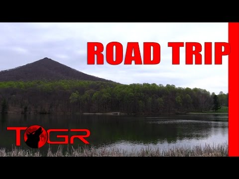 Half the Fun is Getting There - Peaks of Otter - Road Trip Adventure