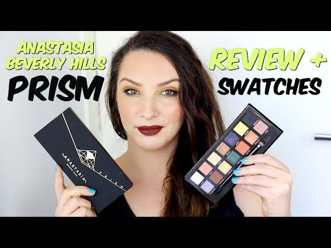Anastasia Beverly Hills Prism Palette - REVIEW & SWATCHES / comparison to Subculture