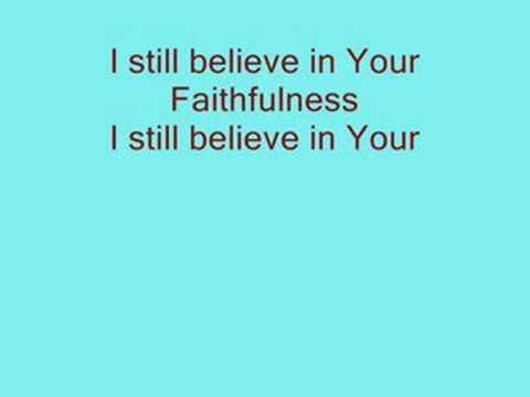 I still believe-Jeremy Camp