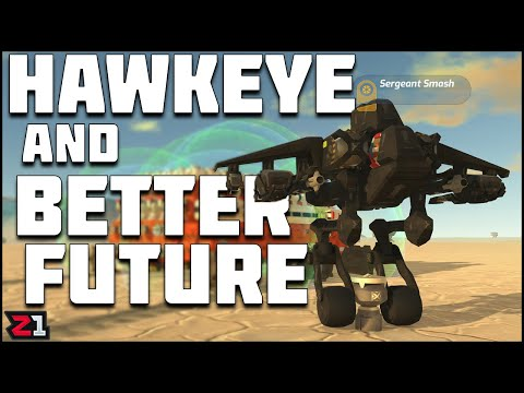 Unlocking Hawkeye And Better Future License ! TerraTech Ep. 5 | Z1 Gaming