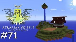Minecraft Agrarian Skies 2 - E71 - BeeNA und Chocolate Milk Quests [deutsch]