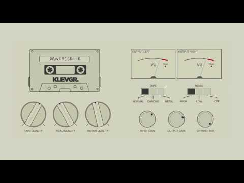 DAW Cassette - Tape Deck Emulation