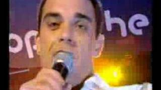 Robbie Williams - The Trouble with Me (Live @ TOTP)