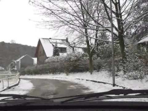Bensberg - Tour - im Winter - Kopie