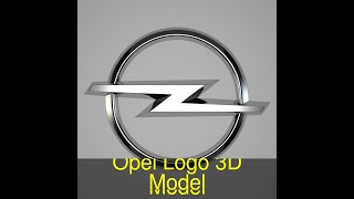 3D Model of Opel Logo Review