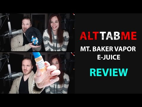 Mt. Baker Vapor E-Juice Blind Taste Test Review!