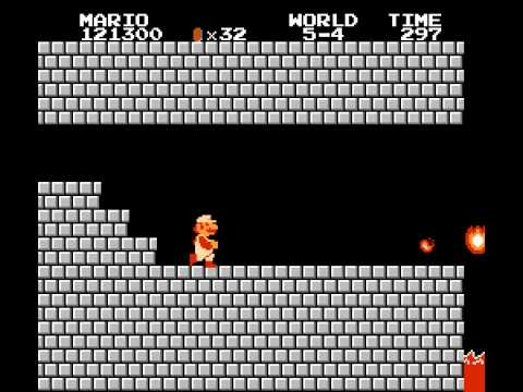 NES Game: Super Mario Bros. (1985 Nintendo)