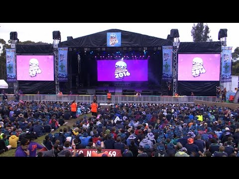 Opening Ceremony - 24th Australian Scout Jamboree (AJ2016)
