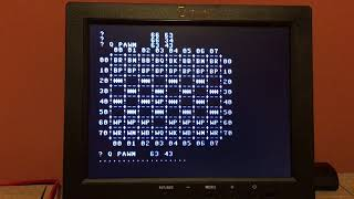 PE6502 computer plays Microchess!