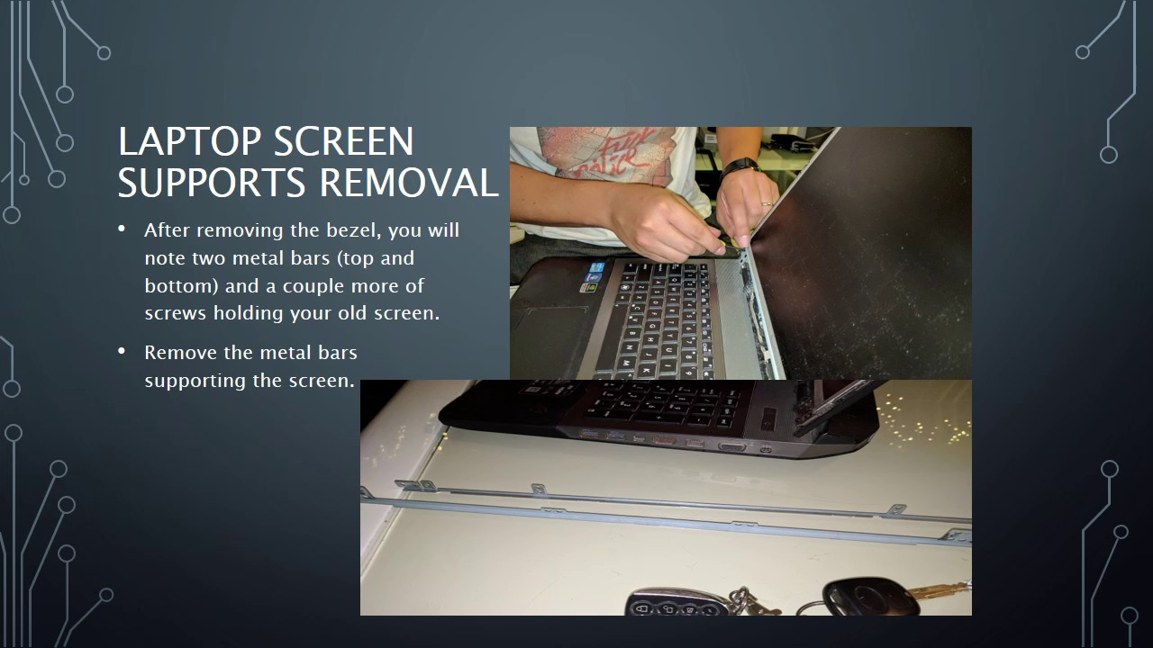how to fix asus laptop screen