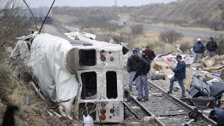 Prison Bus Crash near Odessa Texas