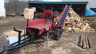 Łupanie drewna 2018