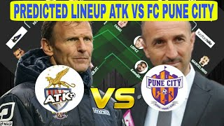 ATK vs FC Pune Predicted Lineup ISL SEASON 2017 — Match Preview