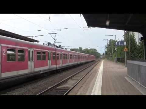 Gustavsburg: Rivers & Railway, Wiesbaden, Hesse, Germany - 8th August, 2014