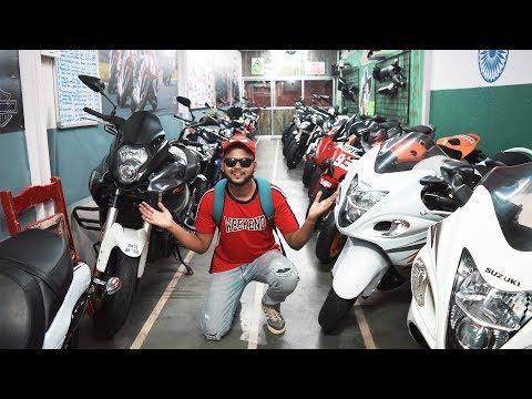 SUPERBIKES IN CHEAP PRICE | SUPERBIKE MARKET IN MUMBAI | BMW S1000RR , HAYABUSA
