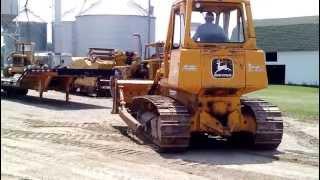 Big Iron Online Auction 750 John Deere Bulldozer July 17, 2013