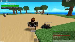 Boat in sand e.e | Join me in ROBLOX!!